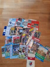 41 WEST HAM UNITED ITEMS 1960- 97 MAINLY AWAY PROGRAMMES INC 1975 FA CUP FINAL