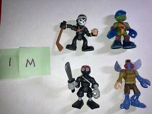 Mixed Lot Imaginext and Playskool toys (TMNT, Ninja Turtles)