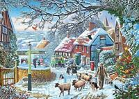 Gibsons Jigsaw Puzzle A WINTER STROLL - 1000 Pieces
