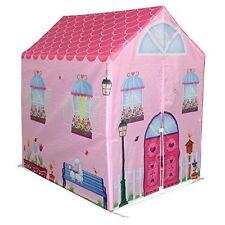 ac5af9b78413 Bentley Kids Childrens Pink Girls Playhouse Wendy House Indoor Outdoor Play  Tent