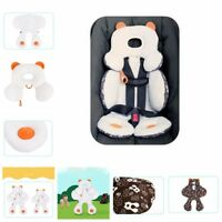 Infant Baby Pram Car Seat Stroller Cushion Pad Mat Head Body Support Pillow Soft