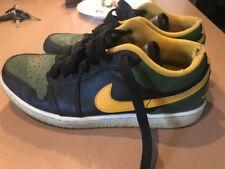 Nike Air Jordan Low 2013 553558-037 size 10 Green Yellow Black