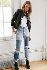 NWT MEMBERS ONLY URBAN OUTFITTERS BOMBER AVIATOR FAUX LEATHER JACKET SIZE SMALL