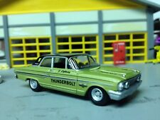 1/64 1964 Ford Fairlane Thunderbolt in LT.Green with a 427 Side-Oiler with 2-4's