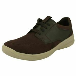 Clarks Mens Cloudsteppers Shoes 'Step Stroll Lace'