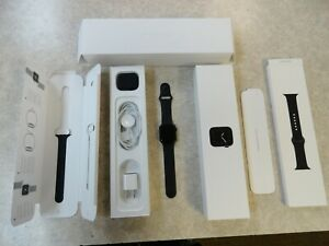 Apple Watch Series 5 40mm GPS + Cellular Gray Black Sport Band MWWQ2LL/A Warrnty