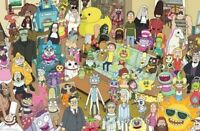 RICK AND MORTY ~ MEGA CAST 22x34 CARTOON POSTER NEW/ROLLED!