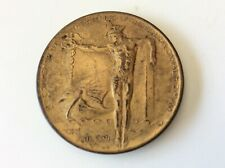 1915 San Francisco World's Fair Exposition Panama Canal Opening Bronze Coin ***