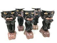 Tasse Porcelaine Personnage  Valauris ? A Identifier Design 50/60
