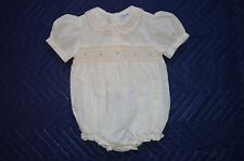 Friedknit Creations Smocked Bubble Size 9 Months