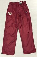NIKE FLORIDA STATE SEMINOLES MEN'S LARGE WOVEN PANT SWEATPANTS FSU MAROON NCAA