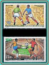 DJIBOUTI 1986 MEXICO WORLD FOOTBALL CUP MNH SPORTS, SOCCER