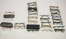 (26) Prada Hugo Boss Morel Bevel Salt Eyecloud Eyeglasses Readers Assorted LOT