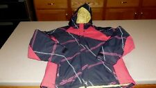 Columbia Coat Insulated Kids Girls Jacket Youth Hooded sz 10/12