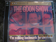 CD THE GOON SHOW IM WALKING BACKWARDS FOR CHRISTMAS  2CDS DISCS  VGC