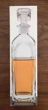 New LUIGI BORMIOLI LIGHT & MUSIC STRAUSS DECANTER WITH STOPPER MADE IN ITALY