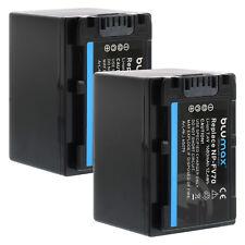 Batería 2x para Sony np-fv70   1680mah   65079   np-fv100 fv120 dcr-sx63 sx85 hdr-cx900