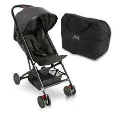 JOVIAL JPC18BK Portable Folding Baby Stroller, Compact & Portable Stroller Black