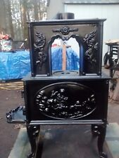 antique classic vintage wood stove