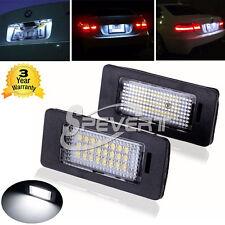 LED NUMERO TARGA LUCI LAMPADE LAMPADINE PER BMW e39 E90 E91 E92 E60 E61 E70 E71