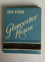 Gloucester House Seafood Restaurant Vintage Matchbook Unstruck Complete