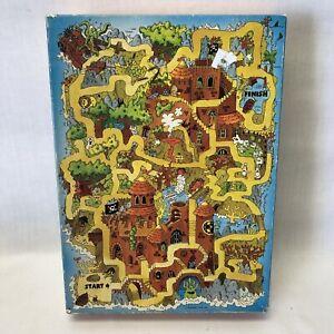 Vintage Springbok 100 Pieces MONSTER MAZE' Halloween 13.5x18 7/8 Jigsaw Puzzle