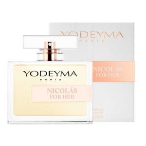 Yodeyma Nicolas For Her fragranza femminile eau de parfum 100 ml