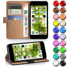 BOOK COVER für Apple iPhone Flip Case Schutz Hülle Handy Tasche Klapp Hülle Etui