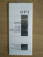 O.P.I PURE LACQUER NAIL APPS - SEQUINS - 16 PRE CUT STRIPS