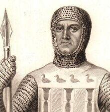 Portrait XIXe Amiral Othon de Torcy Tocy Marine Royale 1839