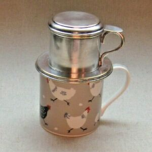 french, Silver plated, tea infuser.