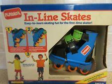 1992 Playskool In-Line Skates Shoe Size 6-12 NIB / NOS