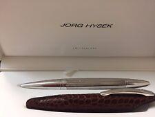 Jorg Hysek Palladium Fountain  Pen  & Pen Case Authentic with case