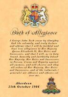 British Army Oath Of Allegiance RA Royal Artillery