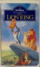 THE LION KING 1995 Walt Disney Masterpiece NTSC Hi-Fi Stereo VHS