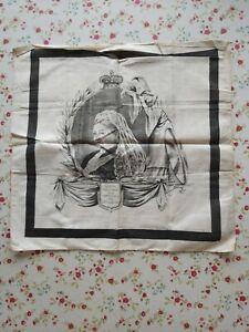 Queen Victoria Death Handkerchief