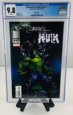 DARKNESS/ INCREDIBLE HULK #1 VARIANT CGC 9.8 WHITE PAGES MARC SILVESTRI 2004 HTF