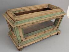 New listing Antique Handmade Primitive Garden Plant Terrarium Box, Original Dry Paint