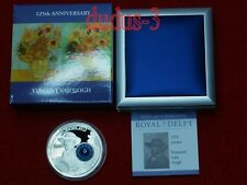 2015 COOK ISLANDS 10$ Royal Delft 125 years Vincent van Gogh 50g silver