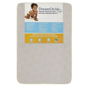"Dream On Me Sunset 3"" Portable Crib Mini Mattress"