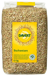 Bio Buchweizen, 1 kg NEU & OVP von Davert