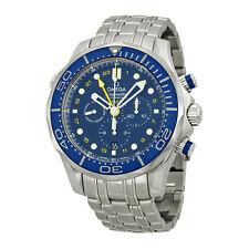 Omega Seamaster Automatic Chronograph Mens Watch 21230445203001