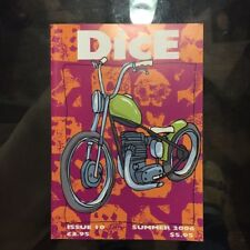 DICE MAGAZINE ISSUE #10 - SUMMER 2006 - EXCELLENT CONDITION - CHOPPER BOBBER MAG