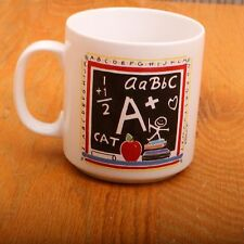 A Teacher Is Better Than Two Books German Proverb Collectible Coffee Tea Mug