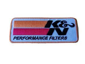 K & N Performance Filters Motor Racing / Motorsport Patch Sew / Iron On Badge