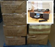 Pallet lot 23x Ex Display Neostar TCDR-30C Turntable Tape CD Radio MP3 Recorder