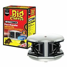 Stv725 Big Cheese Ultra Power Sonic Pest Repeller Mouse Roditore Topi STV