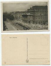 10117 - Wien - Opernring - Echtfoto - Straßenbahn, Autos - alte Ansichtskarte