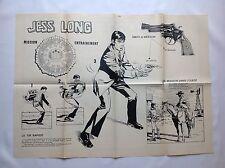 BD - Supplement Journal poster Spirou n ° 2160 JESS LONG - CORVETTE / 1979