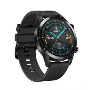 Huawei GT 2 46mm Case Black Strap Smartwatch - (55024316)
